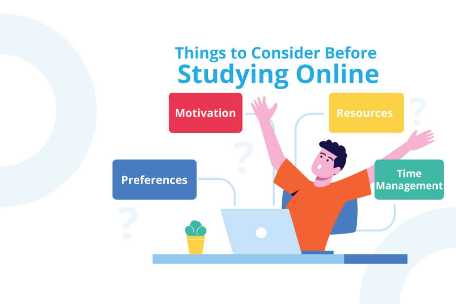 Things To Consider Before Studying Online